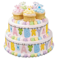 Baby-shower-clothesline-cake-cupcakes