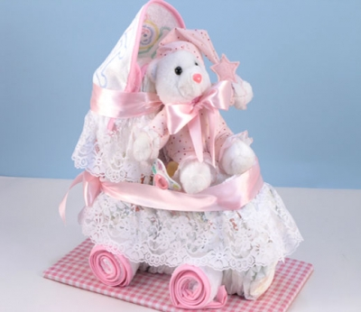Diaper-carriage(pink)