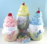 Diaper-cupcake